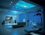 Aquarium in the roof.