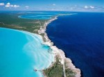 It is an island of Eleuthera. In length it is about 180 km and 1.6 km in width. Its main advantage is that it separates the Caribbean Sea and the Atlantic Ocean! Glass Window Bridge is the best place that would consider all this, it joins a small rocky section with a width of 30 meters between himself and is exactly on the border separating the sea and the ocean.