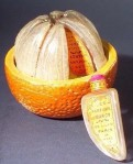 Bottle of French perfume L'Orange Variee, 1925